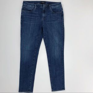 Driftwood Jackie Clean Classic Skinny Blue Jeans